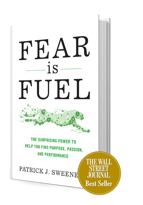 Best Selling Life Changing Book Fear is Fuel Courage Anxiety